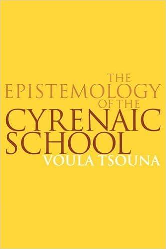 Manuels d'anglais à télécharger gratuitementThe Epistemology of the Cyrenaic School (Littérature Française) PDF CHM ePub