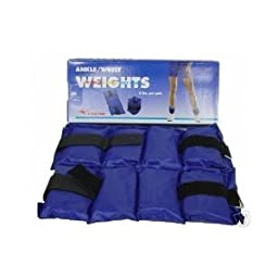 Ankle Wrist Weights 2lb/ Pair & 5lb/ Pair (Sold As 2 Pairs)