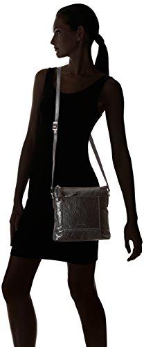 GERRY WEBER Lugano Shoulder Bag MV 4080003248 Damen Schultertaschen 23x23x6 cm (B x H x T) Schwarz (Black 900) rvAAo6adu