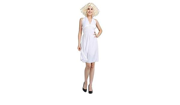 SVFD Disfraz de Halloween Vestido de Marilyn Monroe Ropa siamesa ...