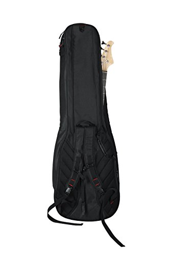Gator Cases 4G Series Double Gig Bag for Bass Guitars with Adjustable Backpack Straps (GB-4G-BASSX2) by Gator (Image #3)