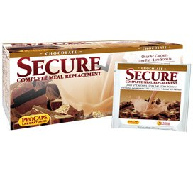Secure Soy Complete Meal Replacement - Chocolate Packets