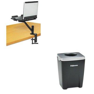 KITFEL8032801FEL8034801 - Value Kit - Fellowes Designer Suites Laptop Arm (FEL8034801) and Fellowes Office Suites Paper Clip Cup (FEL8032801) by Fellowes