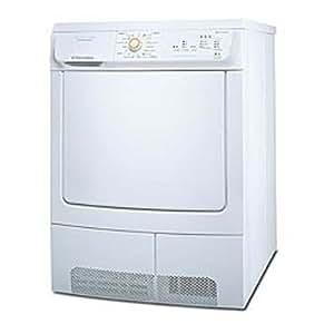 Electrolux EDC67555W Independiente Carga frontal 7kg B Color blanco - Secadora (Independiente, Carga frontal, Condensación, Color blanco, Botones, Acero inoxidable)