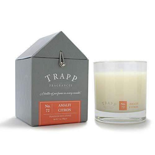Trapp 7oz Signature Home Collection Poured Scented Candle - No. 72 Amalfi Citron