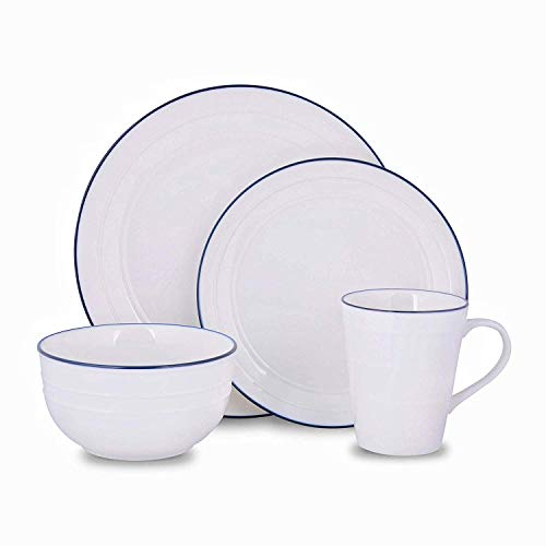 (Porcelain Tea Cup and Saucer Coffee Cup Set and Dinnerware (2 Plates 1 Bowl 1 Cup))