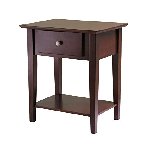 Winsome Wood 94922 Shaker Accent Table, Antique Walnut