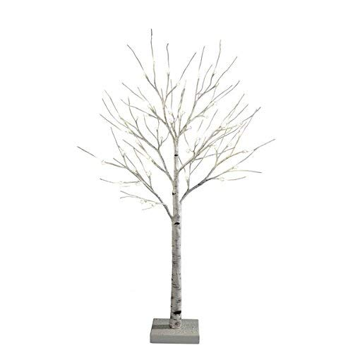 Order Home Collection 4-foot Decorative LED Birch Tree - 4' Cedar Plug