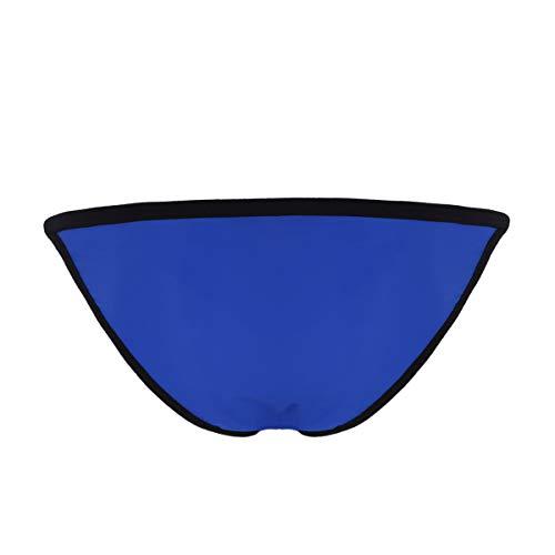Interior Freebily Azul Sueva Elástica Tanga Baja Hombres Ropa Cintura Slip Hilo Bóxer Sexy Calzoncillos De Para qSF5T
