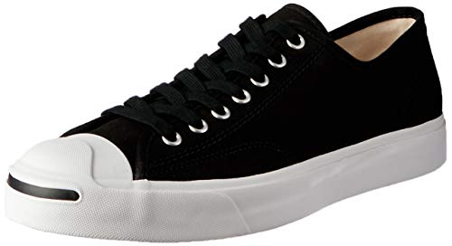 Converse Unisex Jack Purcell Ox Black/White/Black Casual Shoe 11.5 Men US (Jack Sneakers)