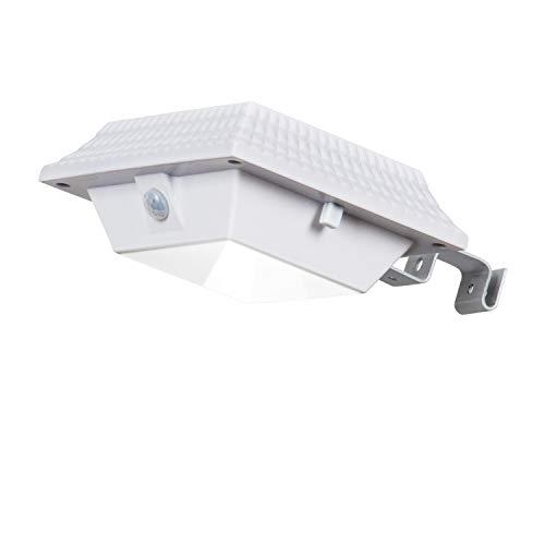 ILIKE Solar Gutter Lights,Bright PIR Motion Sensor12 LED Security Lights Waterproof Light Lamp WirelessArea lightAuto DIM Mode Step lighting Dusk to DawnNight Light Gutter Patio Garden Path