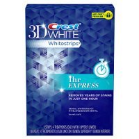Crest 1-Hr Express Whitestrips Dental Whitening Kit - 4 Ct Sold By HERO24HOUR Thank You by HERO24HOUR