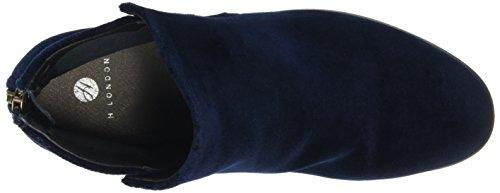 à Bleu Femme Bleu Doublure Bleu Apisi Marine Hudson Bottines E7gqvP0p