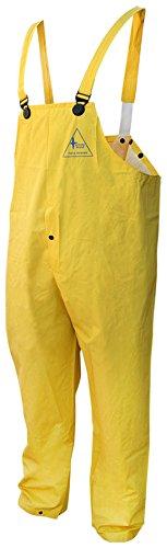 Bob Dale Gloves 951901FRPXL Rain Pants Flame Resistant PVC/Poly/Pvc Bib Pants,
