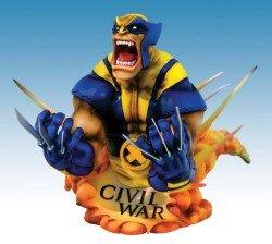 Marvel Universe: Civil War: Wolverine (Wolverine Bust)