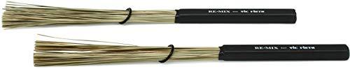 Vic Firth REMIX Brushes - African Grass Drumsticks (RM2)
