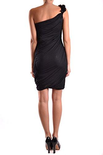 Dsquared2 Damen MCBI107080O Schwarz Viskose Kleid