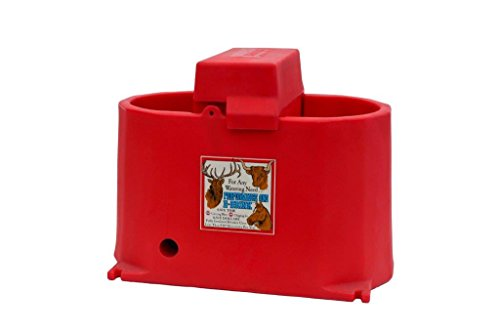 Brower MPO17E 17-Gallon Heated Poly Waterer, Red