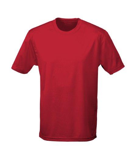 Cotton Ridge AWDis Cool T-Shirt : Color - Red Hot Chilli : Größe - XL