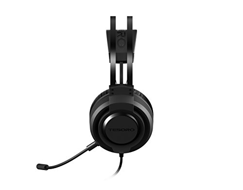 Tesoro Olivant A2 Pro Virtual 7.1 50 mm Noise Cancellation Microphone Gaming Headset (TS-A2-USB) by Tesoro (Image #2)