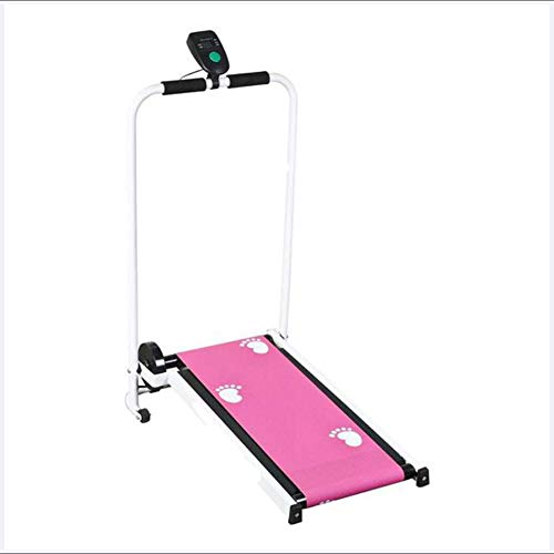 QINYUP Mechanical Treadmill Multifunctional Indoor Folding Walking Machine Home Treadmill Mute Mini Fitness Equipment…