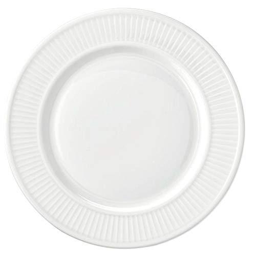 "Pillivuyt PLISSE Charger Imported from France | Fine French Porcelain | Diameter: 12.25"" -  Pillivuyt France"