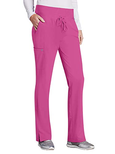 (Barco One 5206 Midrise Cargo Pant Power Pink XS Tall)
