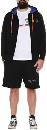 Maxfort BL38 BY Veste en molleton pour homme Tailles fortes ou pantalon court Bermuda 3XL - 8XL