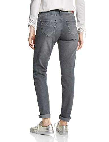 Donna graphite Pantaloni Grigio Cecil Grey 10498 Light S75qwwH