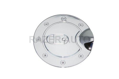Razer Auto Chrome Fuel Gas Door Cover for 02-06 Chevy Chevrolet Trail Blazer / 02-06 GMC Envoy
