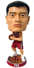 - Houston Rockets Yao Ming Phathead Bobblehead
