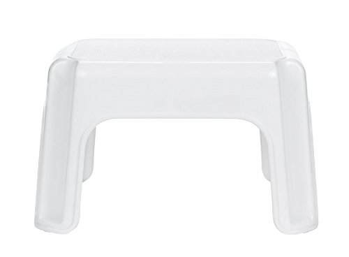 (Rubbermaid - Step Stool With Mold Tread, (12.5 x 15.5 x 9.5 in),White,300lbs)