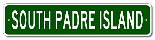 South Padre Island, Texas - USA City Sign - Aluminum 4