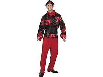 DISONIL Disfraz Chino Hombre Talla L: Amazon.es: Juguetes y juegos