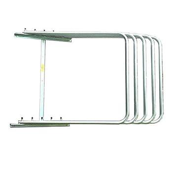 One Size Silver StableKit Rug Rack Three Arm