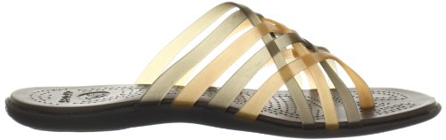 crocs Huarache Flip-flop - Chanclas para mujer Oro (Bronze/Espresso)