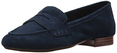 Navy Out Suede Map Women's Aerosoles Loafer w0TFfInq
