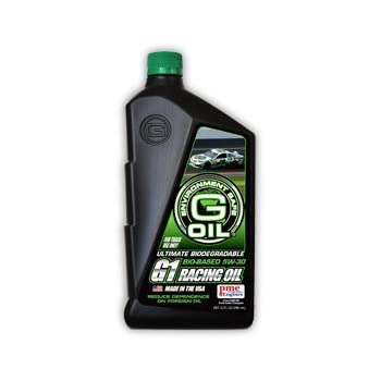 Green Earth Technologies G-OIL 1167 Racing Oil 5W-30 (Case of 6 Qts)
