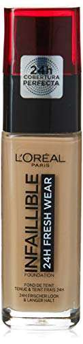 L'Oreal Paris Infallible 24H Foundation, 125 Natural Rose, 30 ml (The Best Drugstore Foundation 2019)