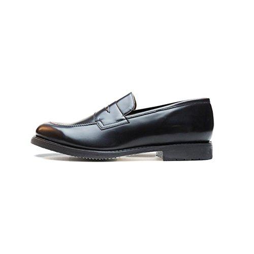 Nae Heren Veganistisch Austin Microfiber Loafer Zwart