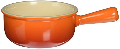 Le Creuset Stoneware 16-Ounce French Onion Soup Bowl, Flame