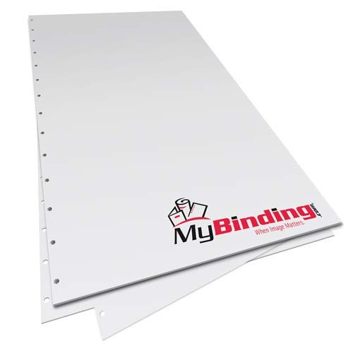 28lb Velobind 11 Hole Pre-Punched Binding Paper - 1250 Sheets (8.5