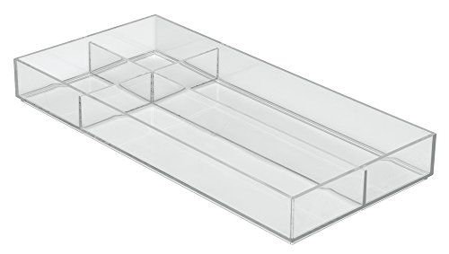 InterDesign Clarity Organizer Silverware Spatulas