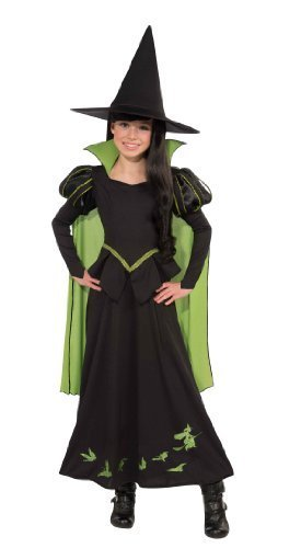 Wizard of Oz Wicked Witch of The West Costume, Small One Color Size: Small Color: One Color CustomerPackageType: Standard Packaging, Model: RUB886489ECMS, Toys & -