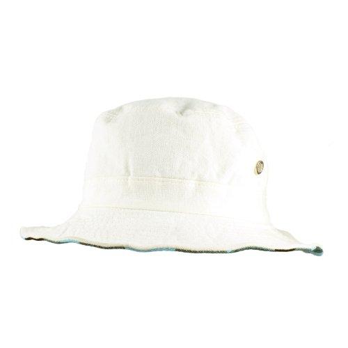 Morehats Men's Women's Unisex Reversible Plaid Cotton Fishing Hiking Bucket Hat