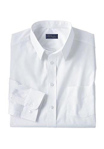KingSize Men's Big & Tall Classic Fit Broadcloth Flex Long-Sleeve Dress Shirt by by KingSize