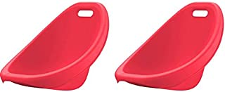 product image for American Plastic Toys Scoop Rocker (Pack of 2) Kids Childrens Chairs (red)