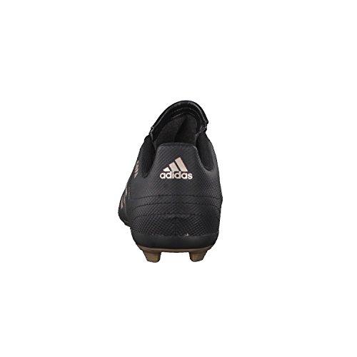 Adidas Coupe 17.4FXG J–Chaussures montantes de fútbolpara enfants, noir–(negbas/cobmet/negbas), 29