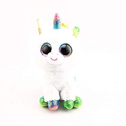 Amazon.com: Ty Beanie Boos Big Eyes - Muñeca de peluche ...