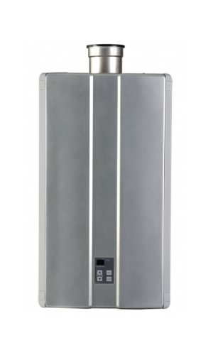 Rinnai RC98HPi Indoor Natural Gas Condensing Tankless Water Heater, 9.8 GPM